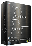 trombone & trumpet sample library box