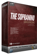 sopranino sample library box