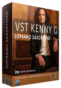 Black vst kenny g soprano box