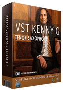 Black vst kenny g bundle box